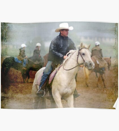 Rainy Day Cowboys II   Poster