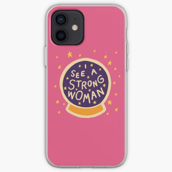 I see a strong woman iPhone Soft Case
