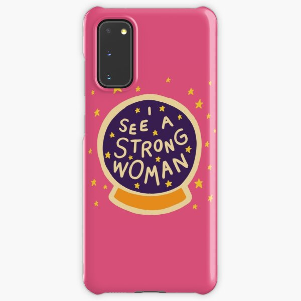 I see a strong woman Samsung Galaxy Snap Case