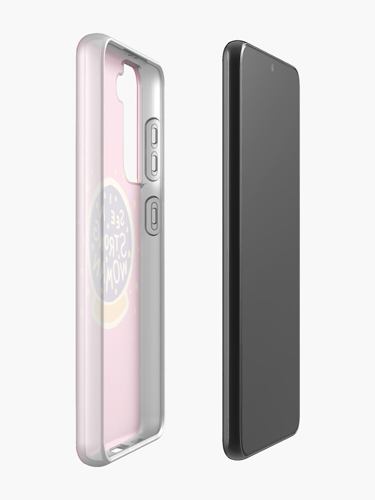 Alternate view of I see a strong woman Case & Skin for Samsung Galaxy