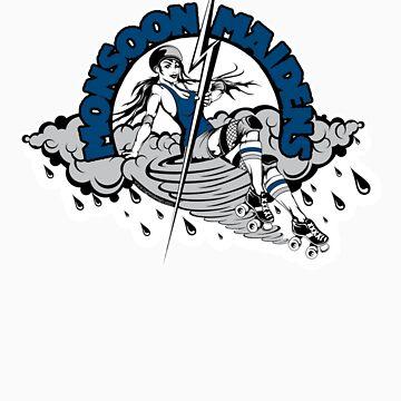 Monsoon Maidens T-Shirts & Hoodies by reefcityrg