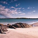 Across the Sound from Berneray by Kasia-D