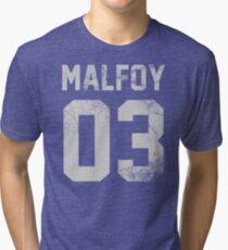 Malfoy jersey Tri-blend T-Shirt