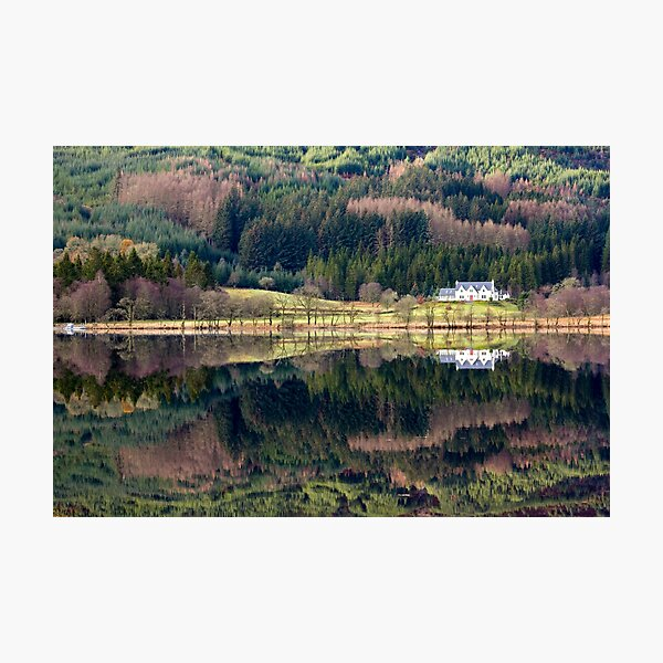Loch Chon reflections Photographic Print
