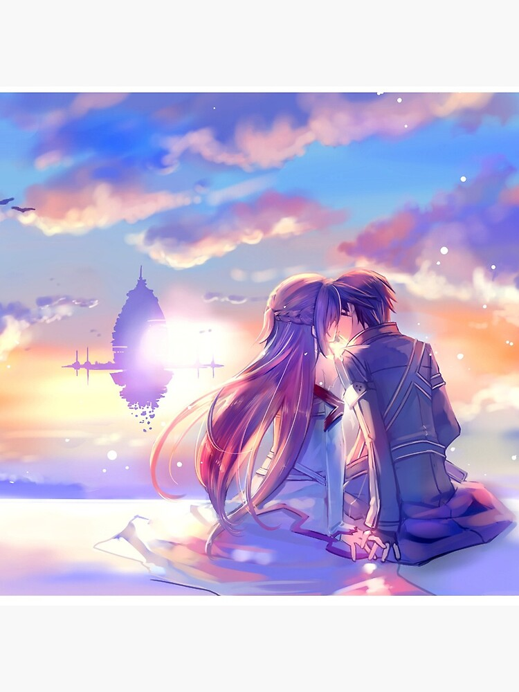 Best couple Asuna and Kirito by jessica0lavalle