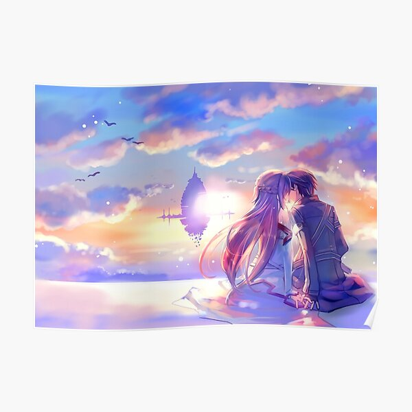 Best couple Asuna and Kirito Poster