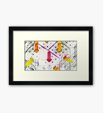 Matthew 6:28 - Abstract CG Framed Print