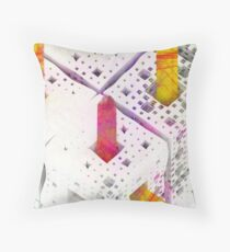 Matthew 6:28 - Abstract CG Throw Pillow
