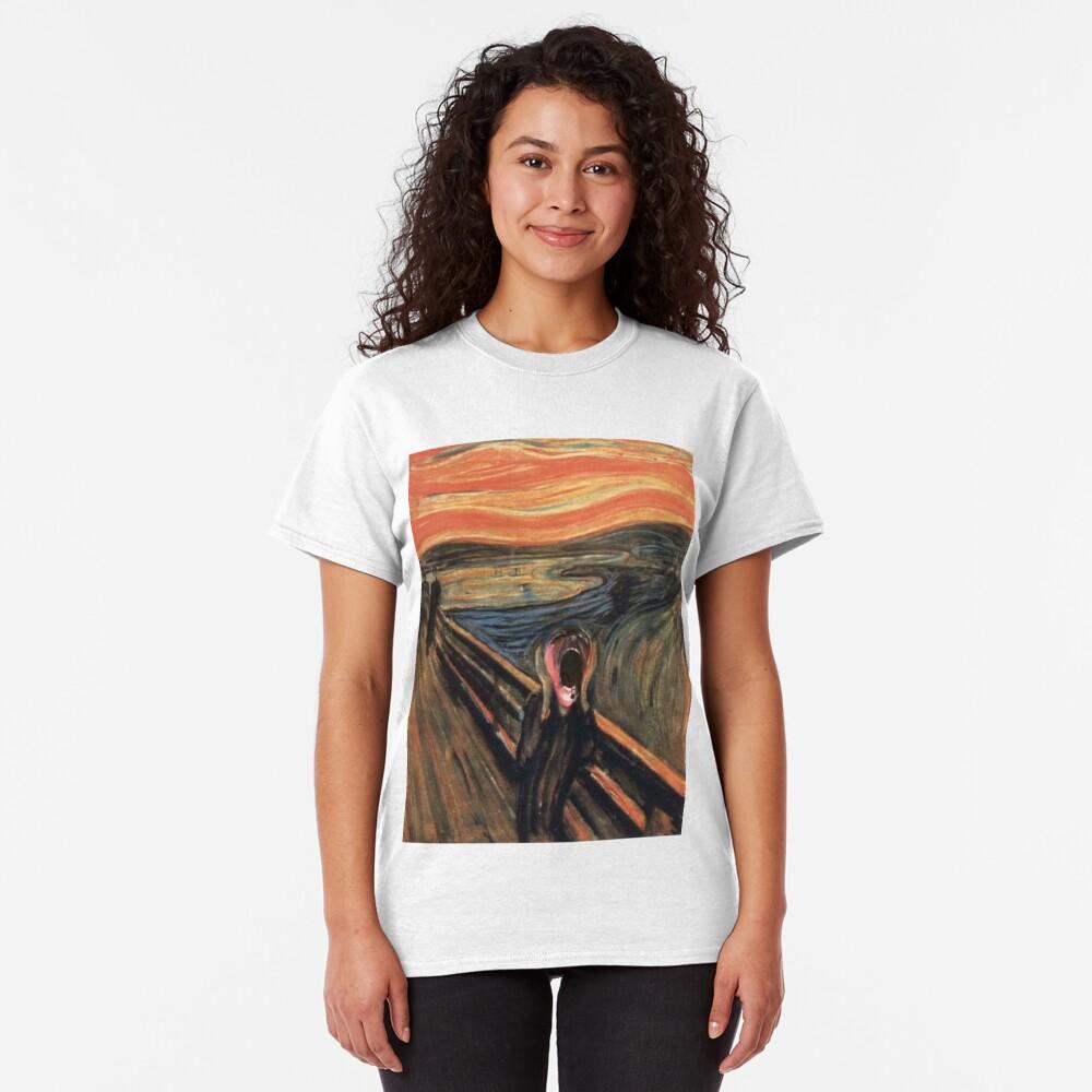 pink scream Classic T-Shirt
