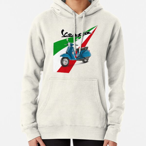 Vespa PX Scooter Pullover Hoodie