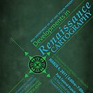 Renaissance Cartography Poster 1 by Danielle Cardenas