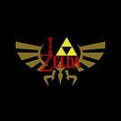 I <3 Zelda - Black by elventhespian