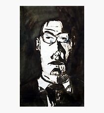 A Father, 1997, Ink on Paper, Justin Curfman Photographic Print