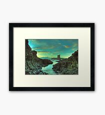 Cathedral Rocks at Dawn Framed Print