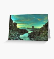 Cathedral Rocks at Dawn Greeting Card