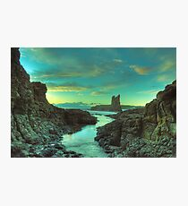Cathedral Rocks at Dawn Photographic Print