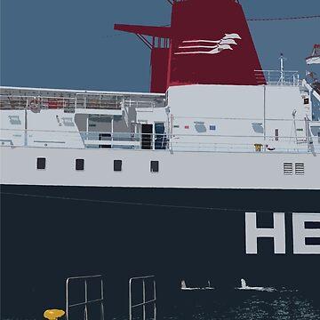 Hellenic Seaways Ship by TomDesigns