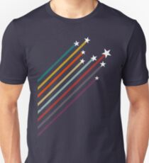 Colored rising stars  Unisex T-Shirt