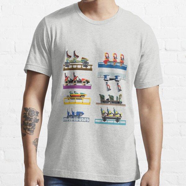 Busch Gardens Williamsburg Coaster Car Design Essential T-Shirt