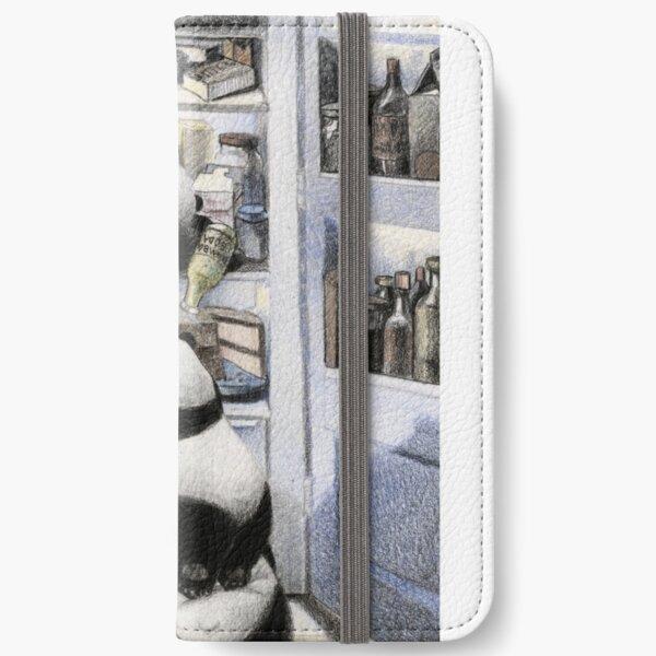 Pandas in the Fridge: Pandamorphosis iPhone Wallet