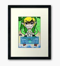 You've caught a fairy! Framed Print