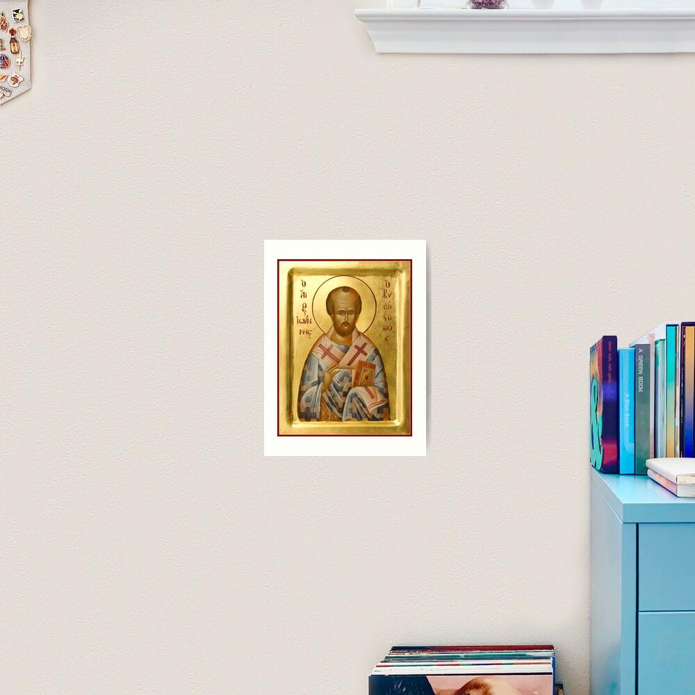St John Chrysostom Art Print