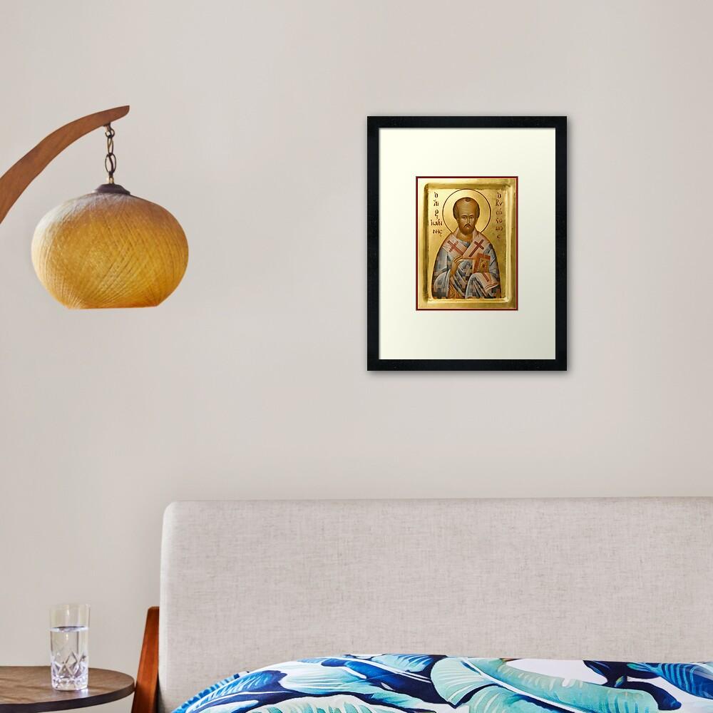 St John Chrysostom Framed Art Print