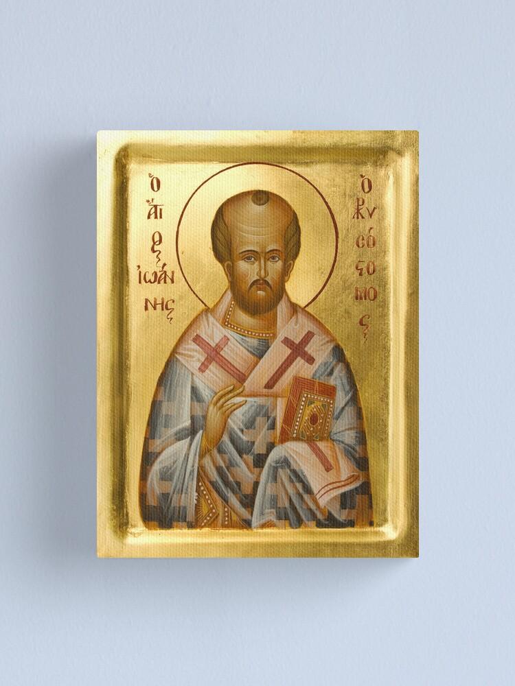 Alternate view of St John Chrysostom Canvas Print