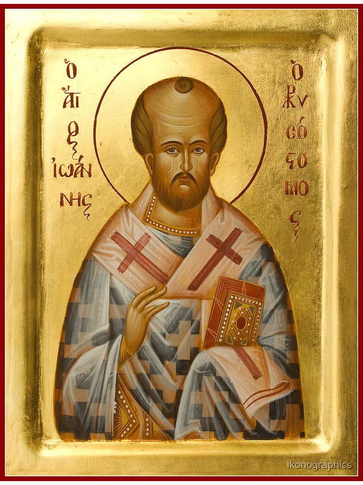 St John Chrysostom by ikonographics