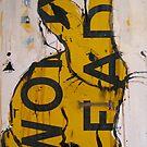 Yellow bunny by James Kearns