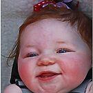 Blue Eyed Redhead by Chet  King