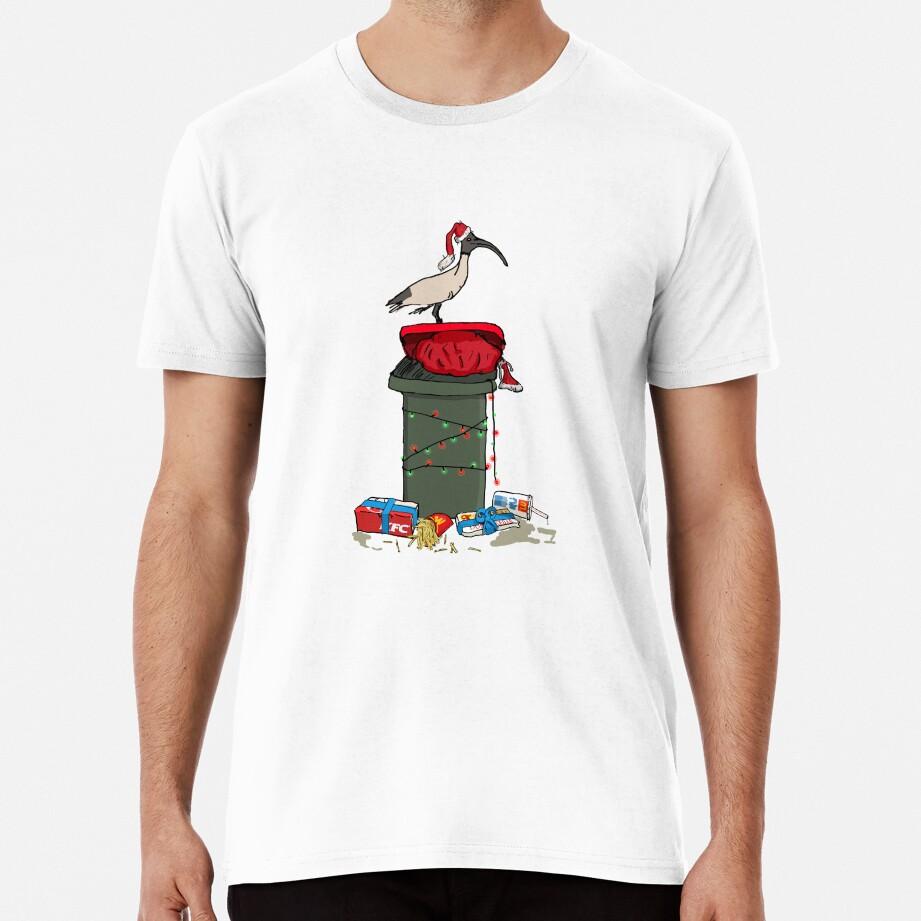 Xmas Bin Chicken OFFICIAL Straya Stickers - *Beware of knock offs* Premium T-Shirt