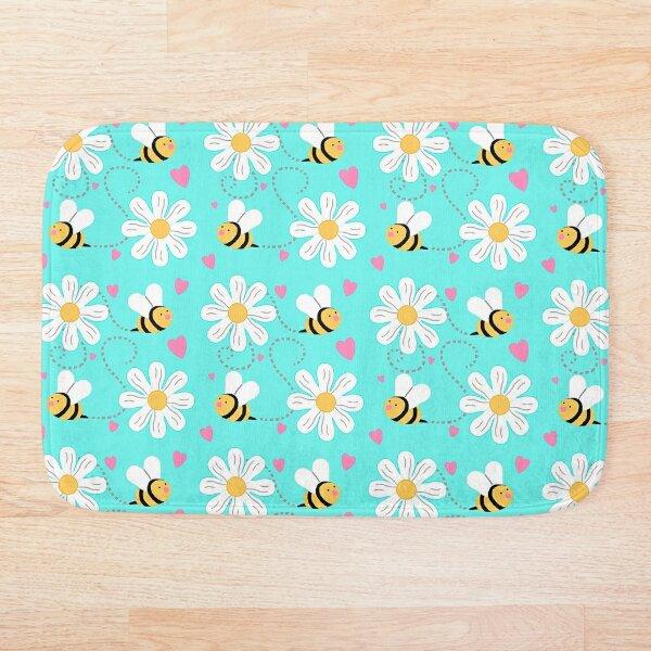 Bumblebee Flight Bath Mat