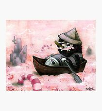 Man Overboard!!! Photographic Print