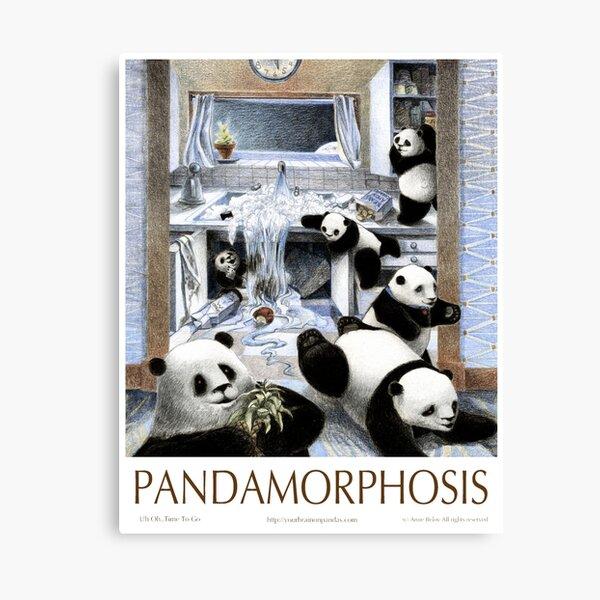 Pandas in the Kitchen? Canvas Print
