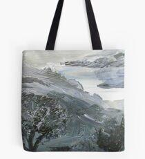 Rumbling Gray Tote Bag