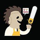 « J'aime le Texas » par murphypop