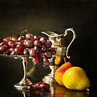 STILL LIFE WITH FRUIT by Theresa Tahara