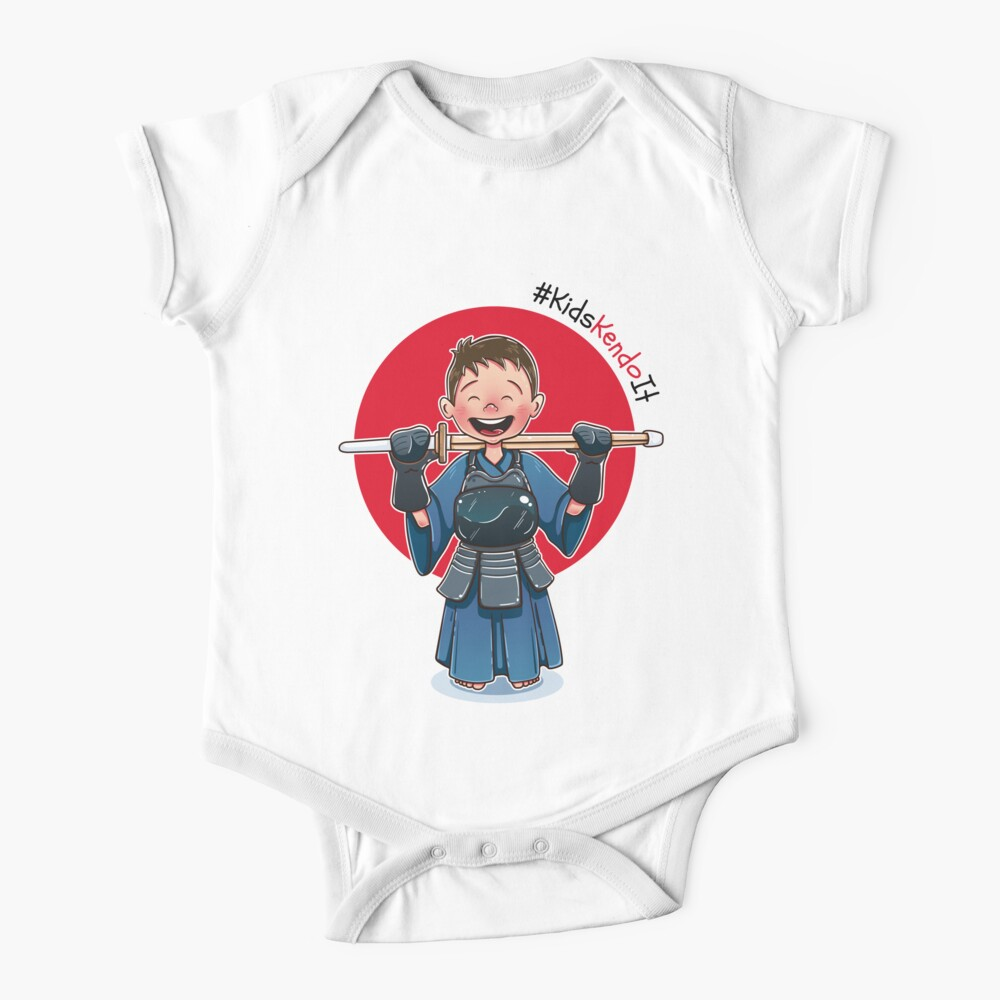 Kendōka Kid - Celebrating Kendo for Kids Baby One-Piece