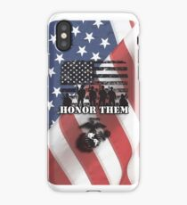 Honor Them-Marines iPhone Case