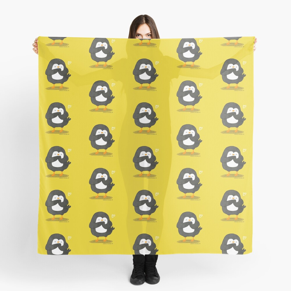 Penguin in Love Scarf