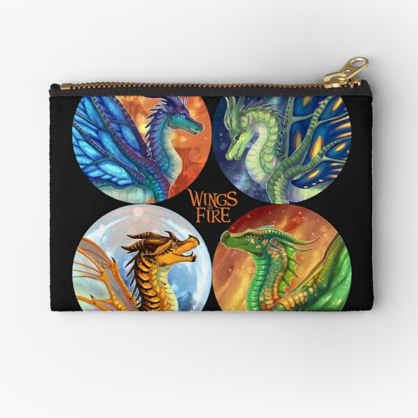 Wings of Fire - Heroes of the Lost Continent Zipper Pouch