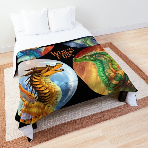 Wings of Fire - Heroes of the Lost Continent Comforter