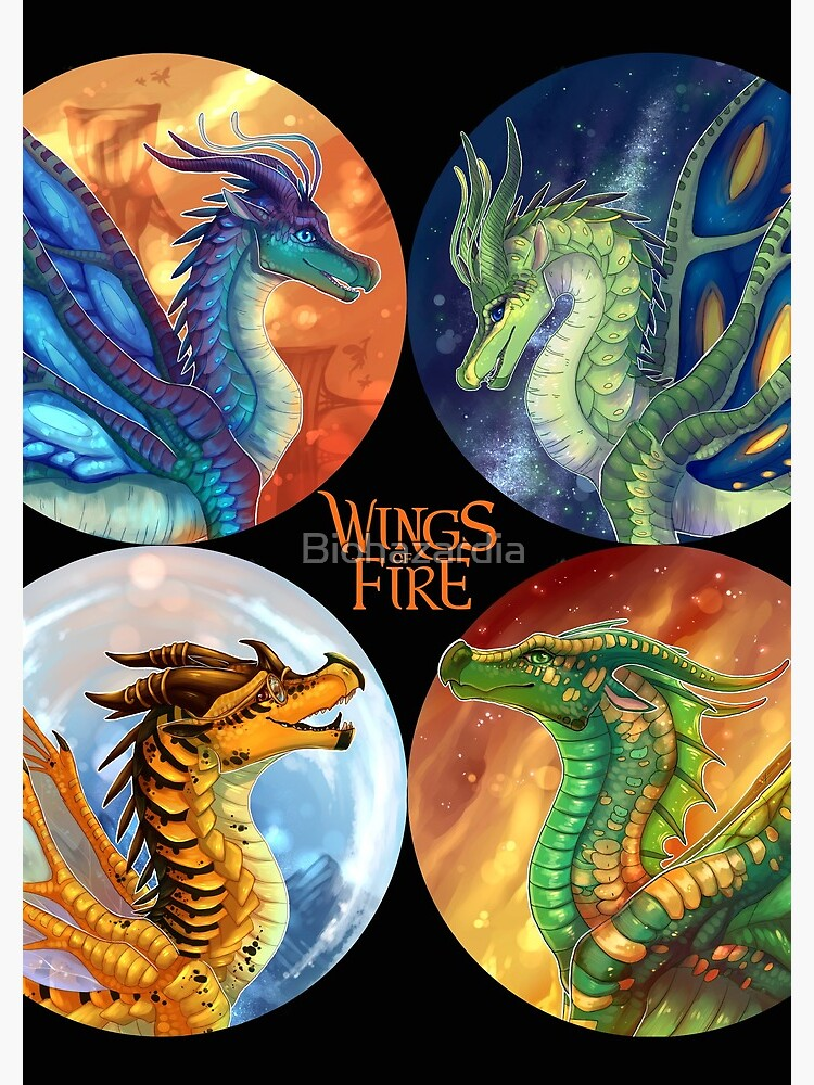 Wings of Fire - Heroes of the Lost Continent by Biohazardia