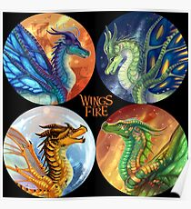 Wings of Fire - Heroes of the Lost Continent Poster