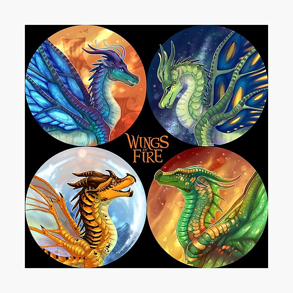 Wings of Fire - Heroes of the Lost Continent Photographic Print