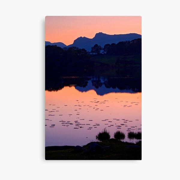 Loughrigg Tarn, The Lake District Canvas Print