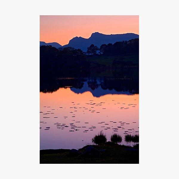 Loughrigg Tarn, The Lake District Photographic Print