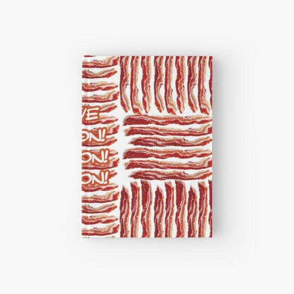 I Love Bacon! Hardcover Journal
