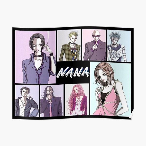 Personnages de manga Nana Anime Poster
